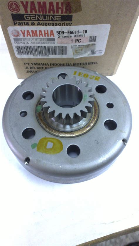 Spare Part Yamaha Yt 115 clutch housing comp