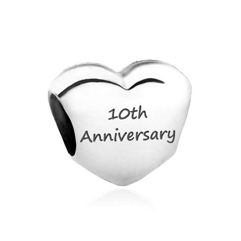 pandora charm 790137 engraved with anniversary
