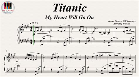 tutorial gitar my heart will go on titanic my heart will go on celine dion piano pdf