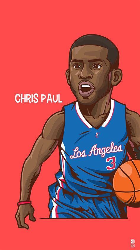 wallpaper cartoon basketball chris paul wallpapers 1080 x 1920 wallpapers disponible