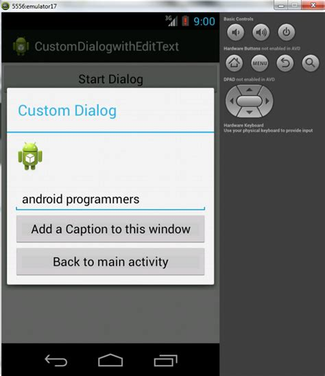 dialog android custom dialog with edittext in android development edumobile org