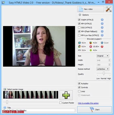 format video html5 how to convert your videos to html5 compatible formats