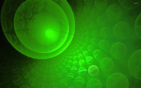 wallpaper green bubble green bubbles wallpaper abstract wallpapers 25633