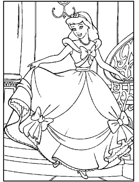 cinderella carriage coloring pages coloring pages