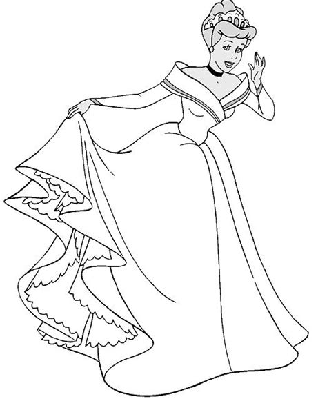 cinderella bride coloring pages wedding dress modest enough weddingbee