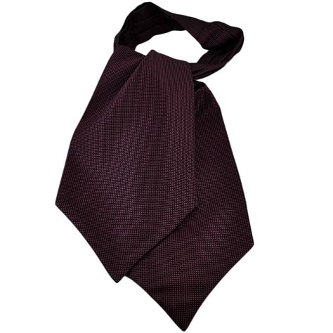 black pink micro patterned casual day cravat from ties