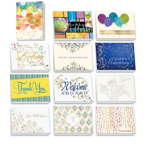 Assorted Birthday Cards For Employees Elegant Employee All Occasion Card Assortment Bulk