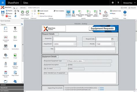 design nintex form nintex f 252 r sharepoint 2016 ver 246 ffentlicht