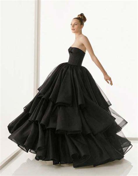 Wedding Dresses Black by Black Strapless Gown Wedding Dresscherry