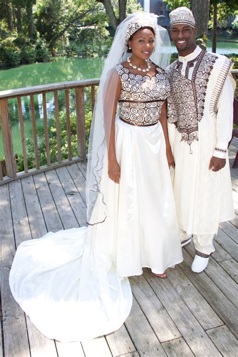 Traditional african marriage