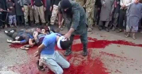 imagenes fuertes estado islamico trapitoonline net video la decapitaci 243 n m 225 s cruel del