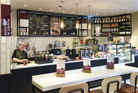 interior design store uk costa coffee trials store design concept in