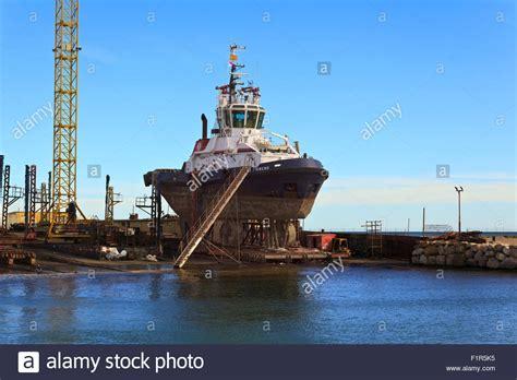 Tug Boat Shoppinf tug boat in dock in de burriana stock photo royalty free image 87175849 alamy