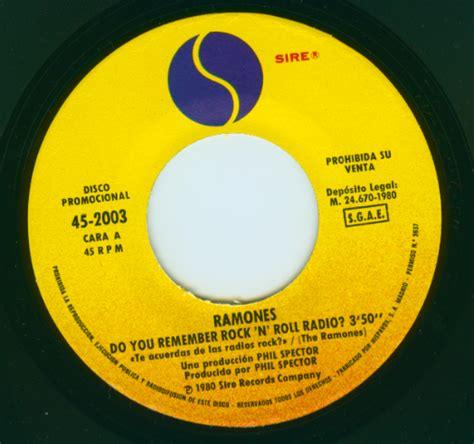 Promo Roll N Go ramones on vinyl the promo singles