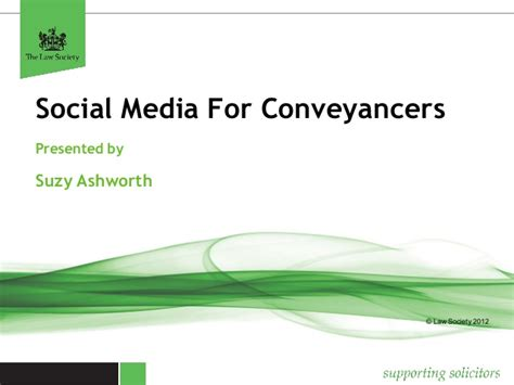 law society property section social media for conveyancers law society webinar 19