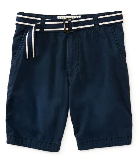 aeropostale mens classic flat front casual walking shorts