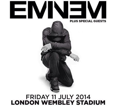 eminem in concerto al wembley stadium di londra luglio eminem concerto a londra a luglio eminem official italia