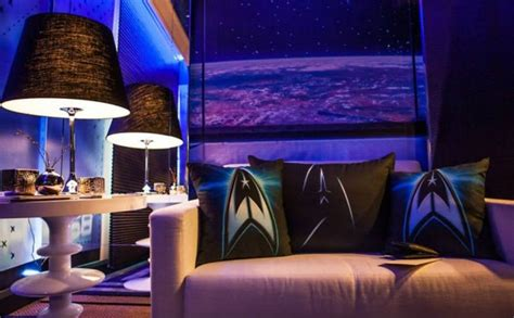 star trek bedroom star trek themed hotel room in sao paulo mightymega