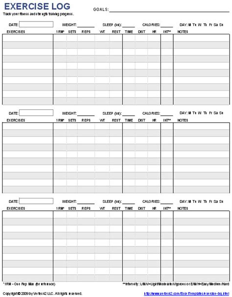 workout sheet two day workout exle and rest