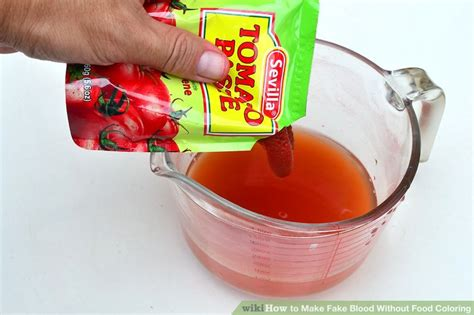 how to make food coloring 3 ways to make blood without food coloring wikihow