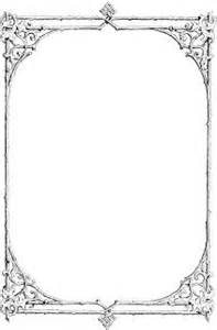 gothic border clipart clipart suggest