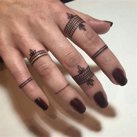 thumb ring tattoo designs facts about finger tattoos designs and tattoos with