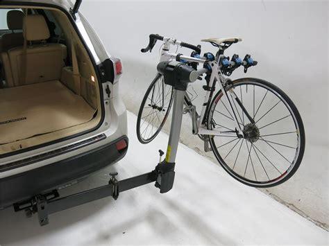 Bike Rack Toyota by Toyota Highlander Thule Apex Swing 4 Bike Rack For 2