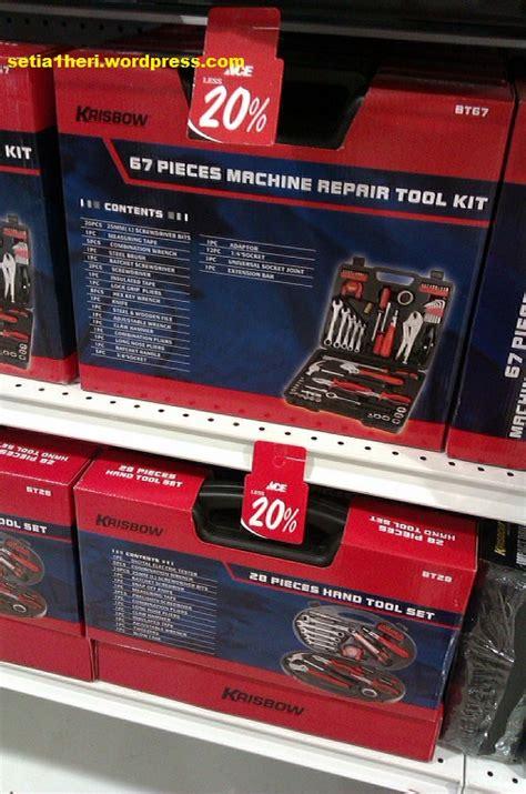Kunci Pas Merk Krisbow membungkus tool kit set krisbow 67pcs setia1heri