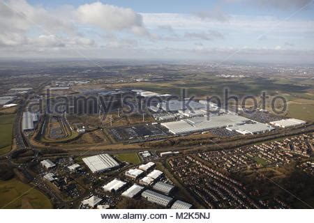 nissan car factory sunderland stock photo, royalty free