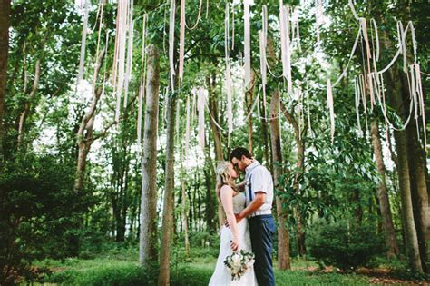 real backyard weddings rustic chic backyard wedding michelle jimmy