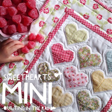 Quilting Tutorials On by Sweethearts Mini Quilt Tutorial Quilting In The