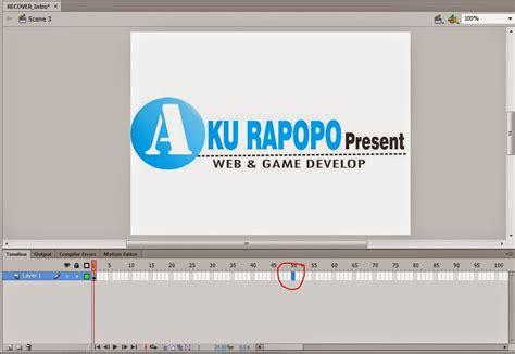 membuat iklan animasi dengan adobe flash cara membuat banner animasi dengan adobe flash