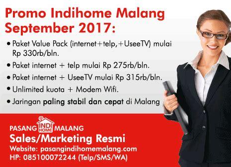 Pasang Indihome Malang promo pasang indihome malang september 2017 pasang indihome malang