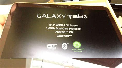 samsung gt p galaxy tab   wifi unboxing video