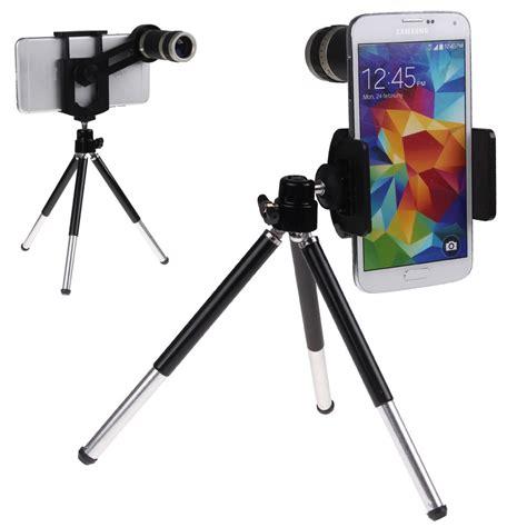 Tripod Besar Holder U 8x zoom optical lens kit telescope tripod holder