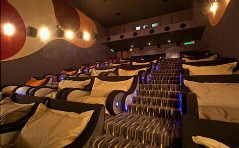 most comfortable theater seats is this the world s most comfortable movie theater
