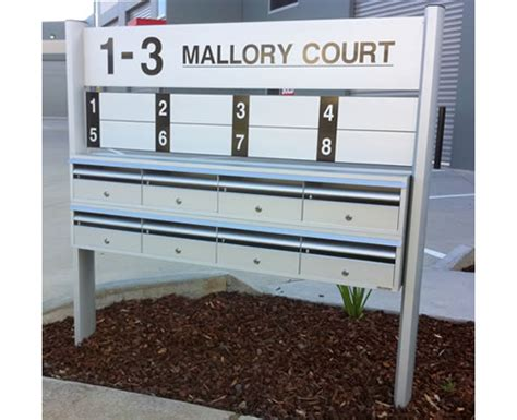 Apartment Mailboxes Melbourne Commercial Sign System And Letterboxes Securamail