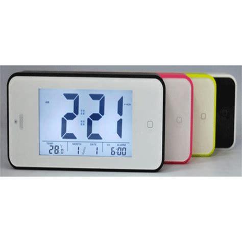 Digital Desktop Smart Clock Touch Buttom Jp9902 Whi 2010 digital desktop smart clock touch buttom jp9902 white