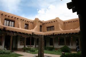 Santa Fe Home Plans American Style Santa Fe Amp The Pueblo Revival