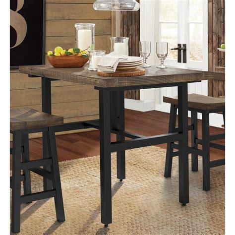 popular rustic counter height table oa advancedmassagebysara