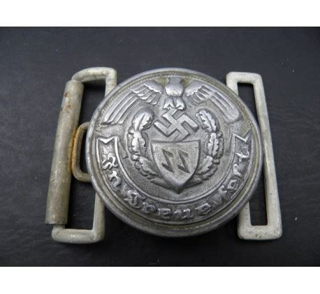ww2 croatia waffen ss officer s belt buckle