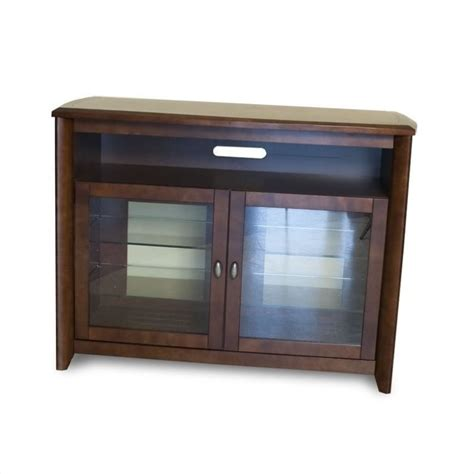 50 inch wide tv stand in walnut finish awc5036