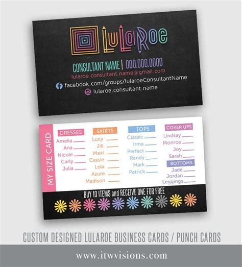 lula roe business card template best 25 lularoe business cards ideas on