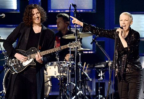 hozier us store guitars of the 57th annual grammy awards