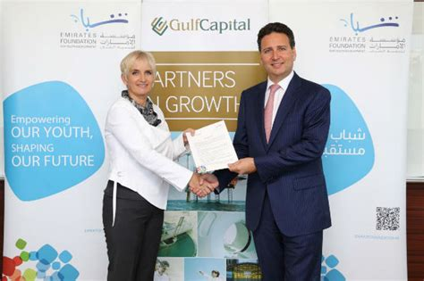emirates youth foundation gulf capital partners with emirates foundation to support