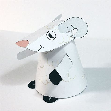 Papercraft Sheep - papercraftsquare new paper craft sheep paper
