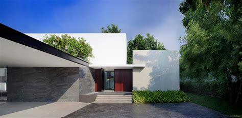Entree Exterieur Maison Moderne 4408 by Maison Contemporaine Au Style Japonais