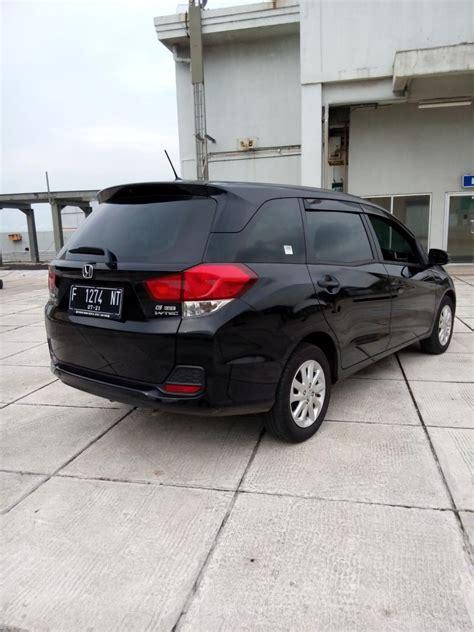 Honda Mobilio E Cvt honda mobilio 1 5 e cvt matic 2016 hitam km 14 rban