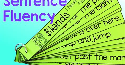 sentence pattern for he was excited the creative colorful classroom sentence fluency phonics
