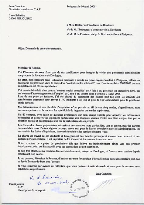 Lettre Motivation Ecole De Commerce Post Bac Etudiants Du Lyc 233 E Bertran De Born 224 P 233 Rigueux 187 Archives Du 187 Acte De Candidature